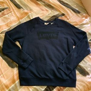 women's levis graphic crewneck